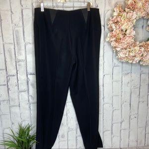 Vintage Joseph Ribkoff black front zipper size 12